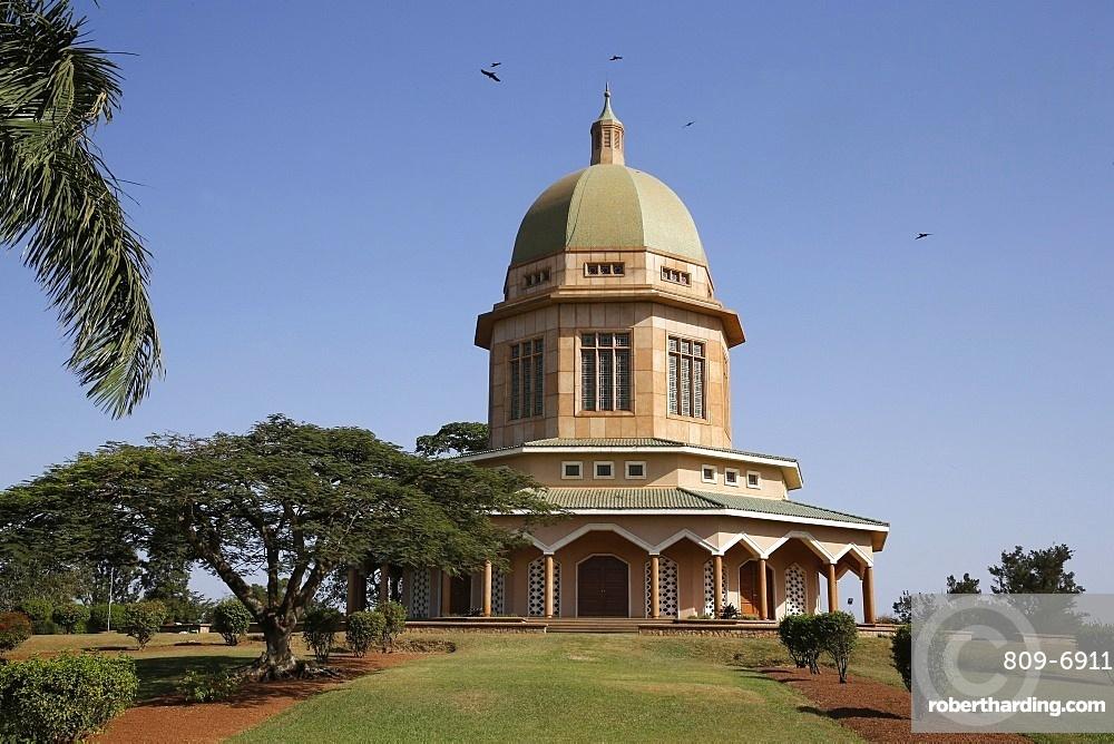 Baha'i temple and gardens, Kampala, Uganda, Africa