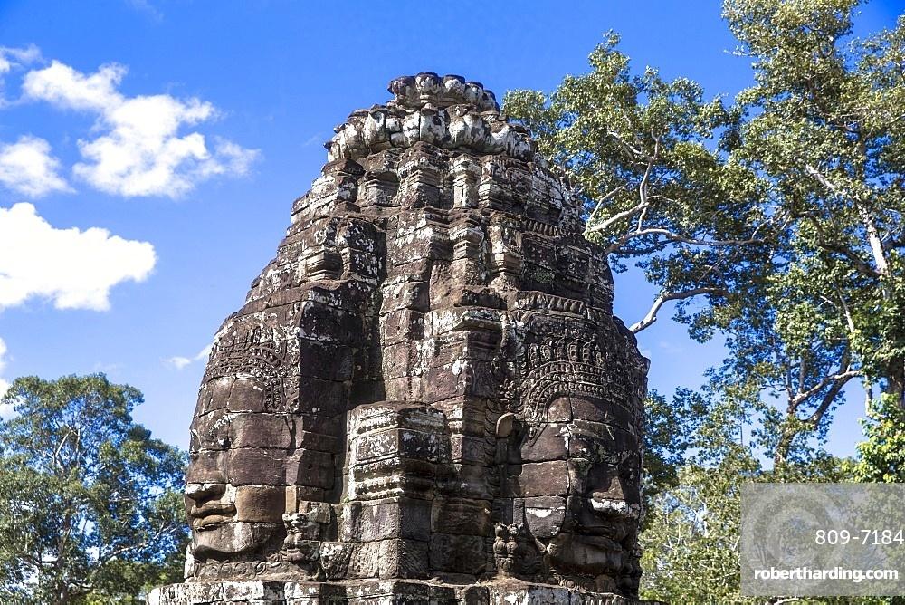 Angkor temple complex. Bayon. Cambodia.