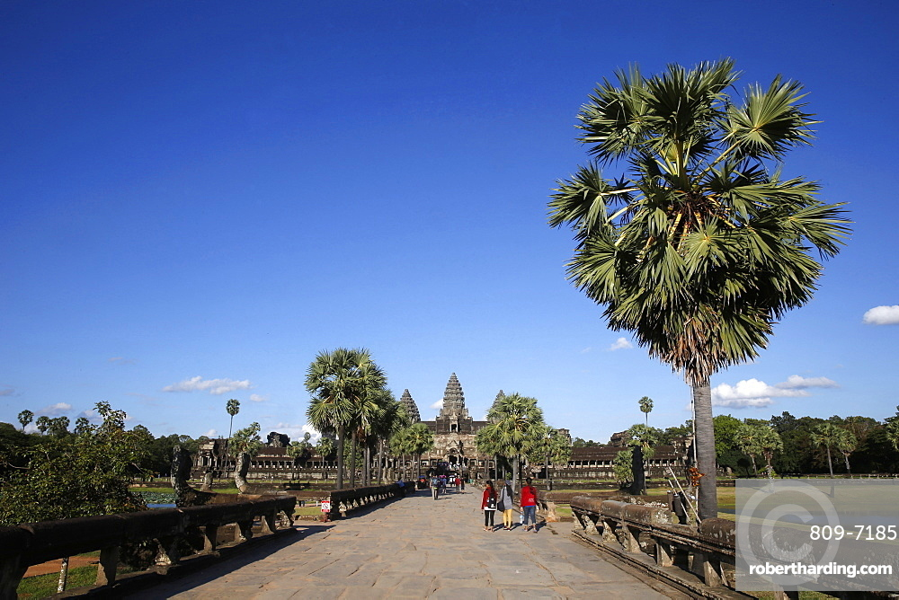 Angkor Wat, UNESCO World Heritage Site, Siem Reap, Cambodia, Indochina, Southeast Asia, Asia