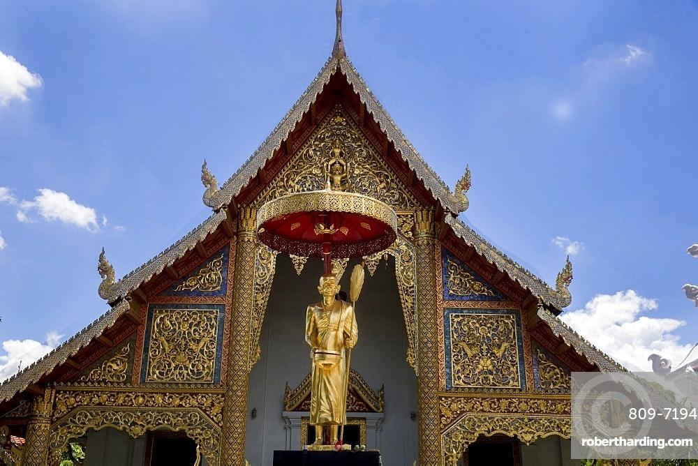 Wat Chedi Luang, Chiang Mai. Thailand. Thailand.