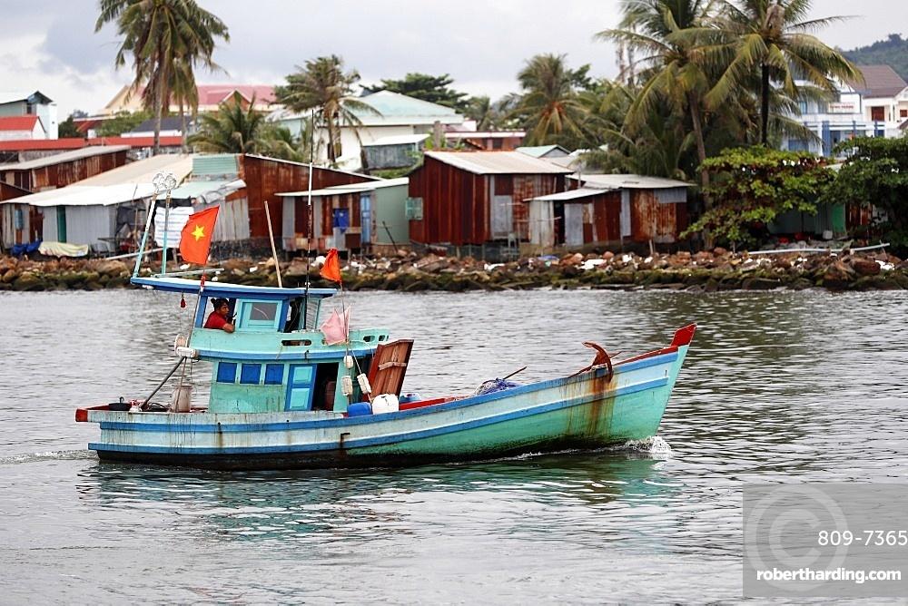 Fishing boat, Duong Dong harbor, Phu Quoc, Vietnam, Indochina, Southeast Asia, Asia