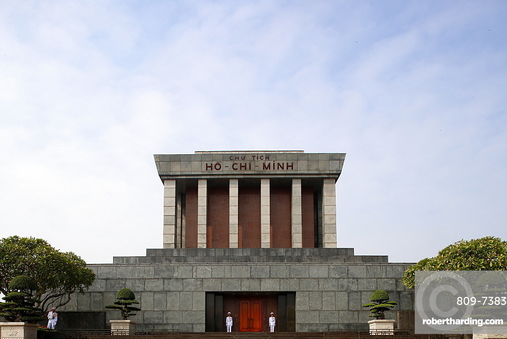Ho Chi Minh Mausoleum, Hanoi, Vietnam, Indochina, Southeast Asia, Asia
