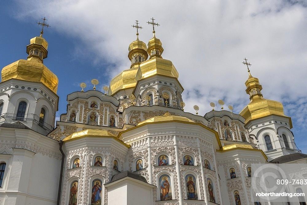 Dormition Cathedral (Ouspensky sobor), Kiev, Ukraine, Europe
