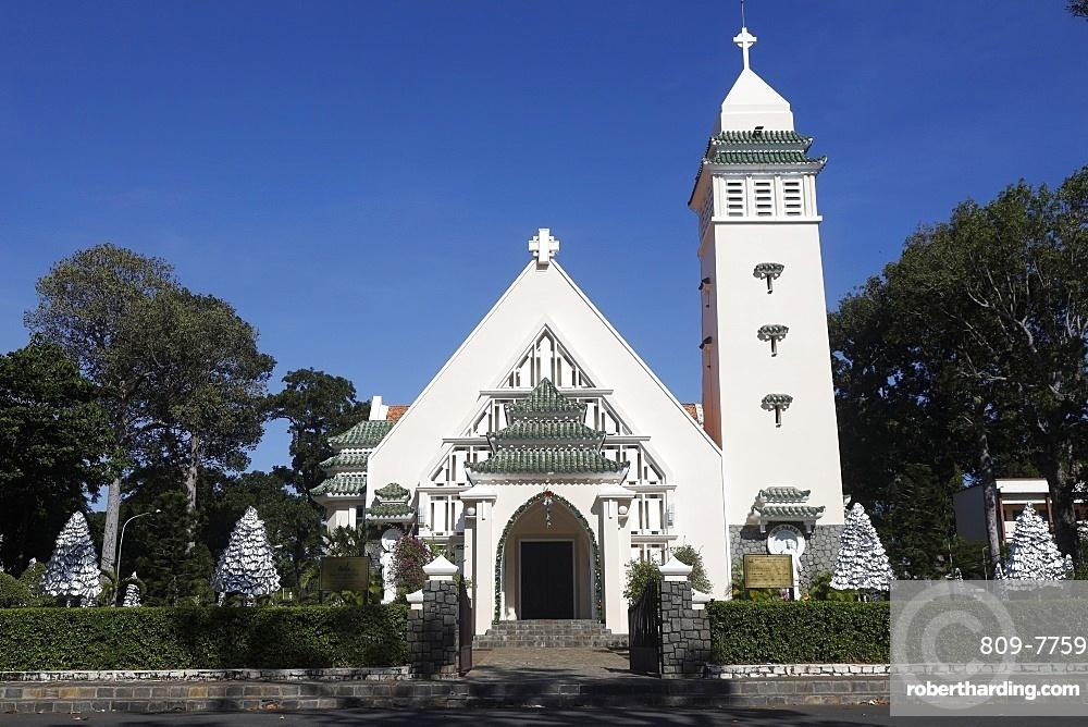 Vung Tau Catholic church, Vung Tau, Vietnam, Indochina, Southeast Asia, Asia