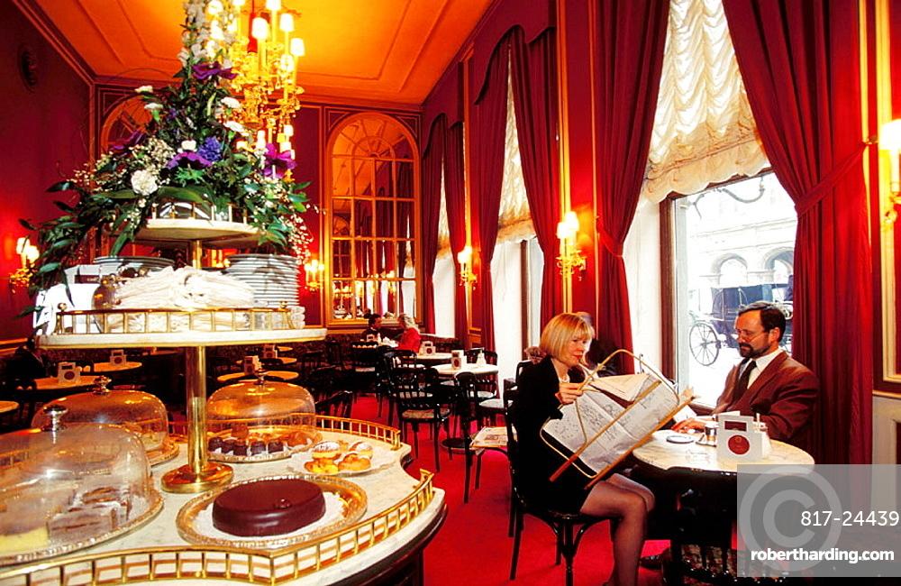 Sacher Cafe, Vienna, Austria
