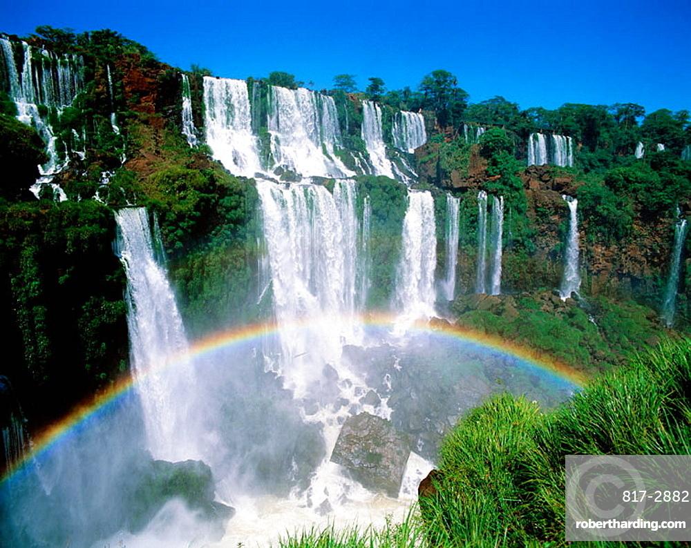 Iguazu falls, Iguazu National Park, Misiones, Argentina