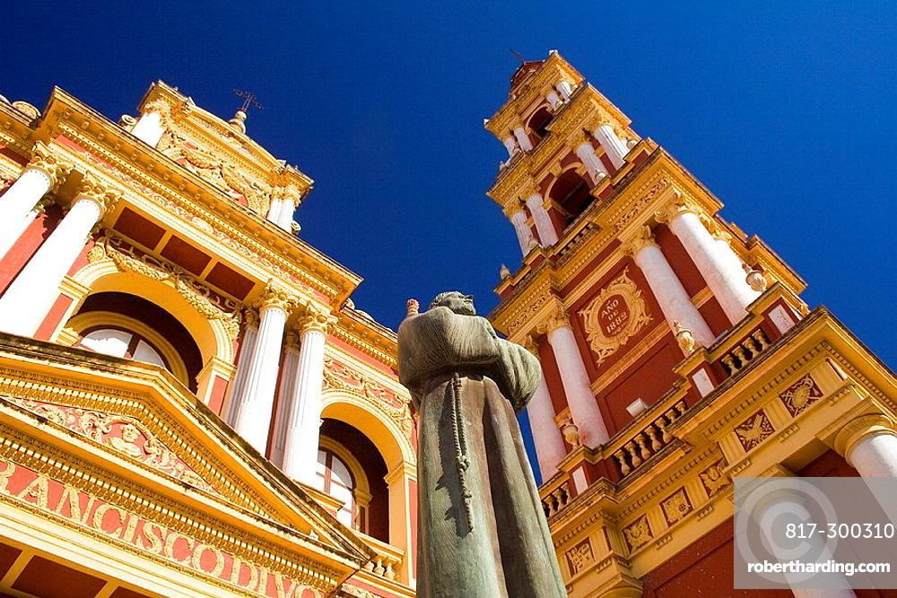 argentina south america salta city stock photo