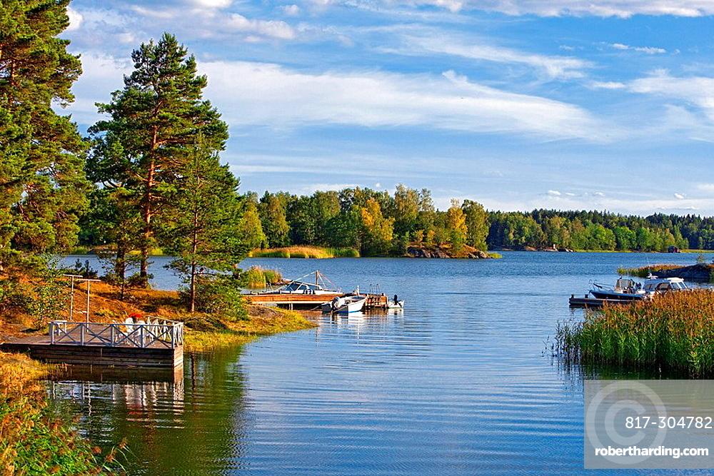Sweden Stockholm Archipelago Background Baltic