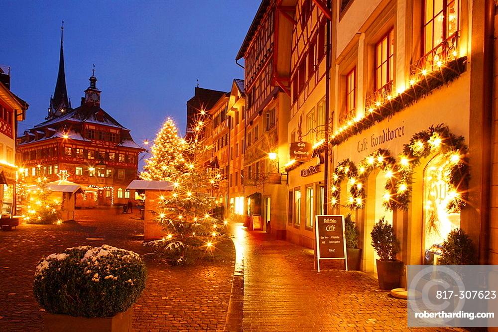 Switzerland, Stein Am Rhein, Town,