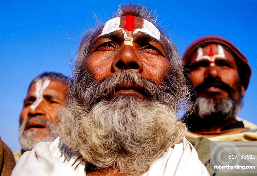 Men, Varanasi, Uttar Pradesh, India