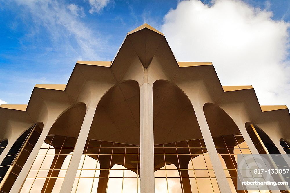 USA, Oklahoma, Tulsa, Oral Roberts University, Learning Resources Center