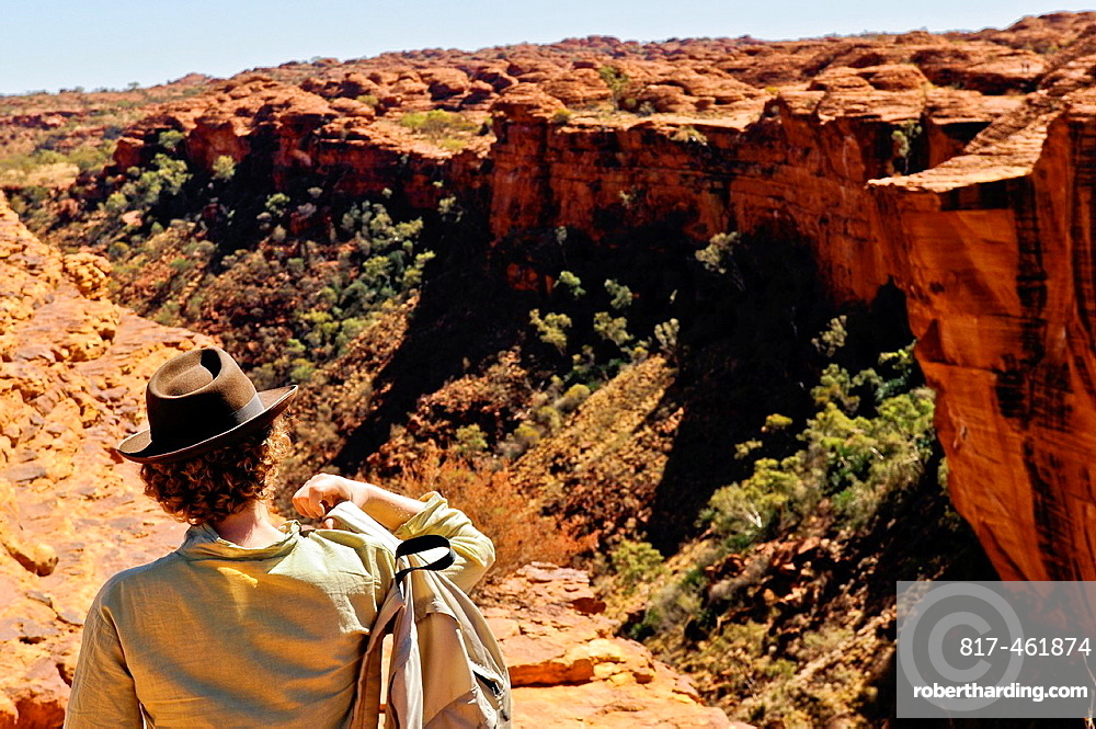 Kings Canyon, Watarrka National Park, Northern Territory, Australia, Oceania.