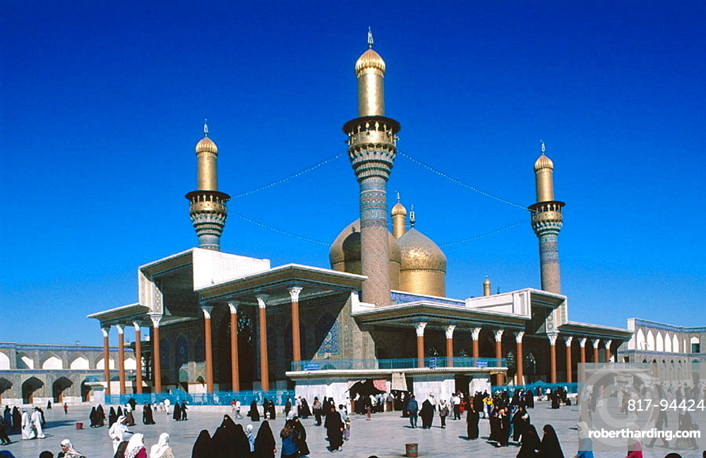 Sanctuary Mosque Al Kadhimain, Baghdad, Iraq