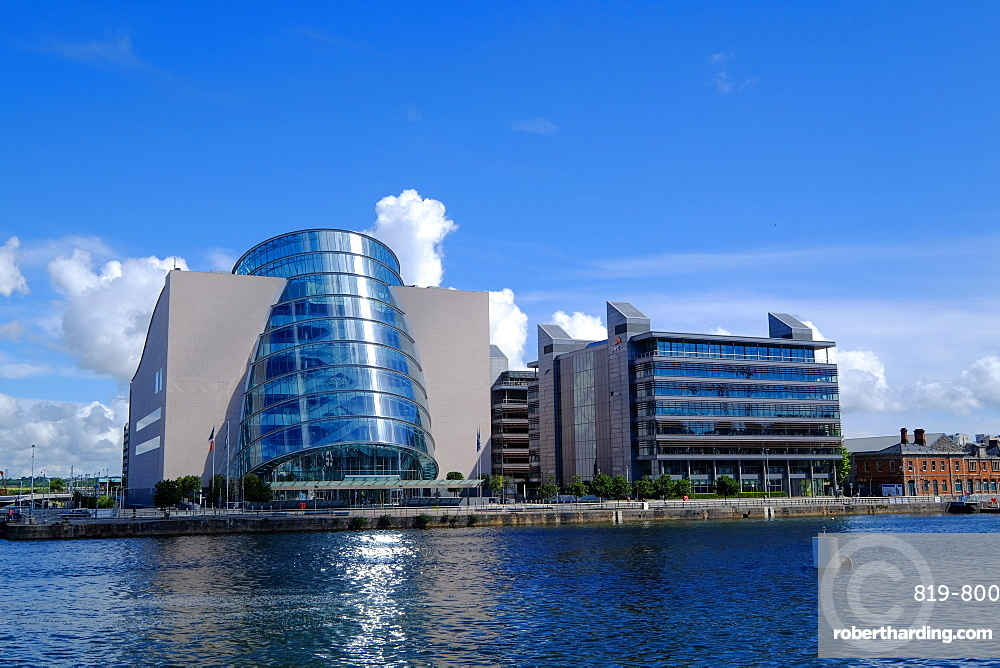The Convention Centre Dublin on the North Quay, Liffey River, Dublin, Republic of Ireland, Europe