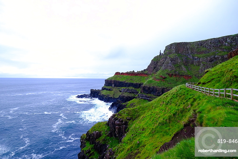 Causeway Coast, County Antrim, Ulster, Northern Ireland, United Kingdom, Europe