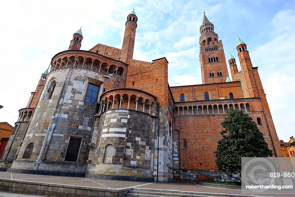 Cremona Cathedral, dedicated to the Assumption of the Blessed Virgin Mary, Cremona, Lombardy, Italy, Europe
