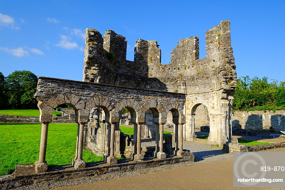 Mellifont Abbey, a Cistercian abbey, Drogheda, County Louth, Leinster, Republic of Ireland, Europe