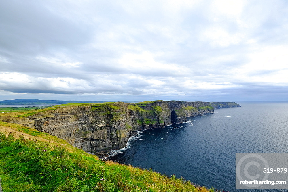 The Cliffs of Moher, Burren region in County Clare, Munster, Republic of Ireland, Europe