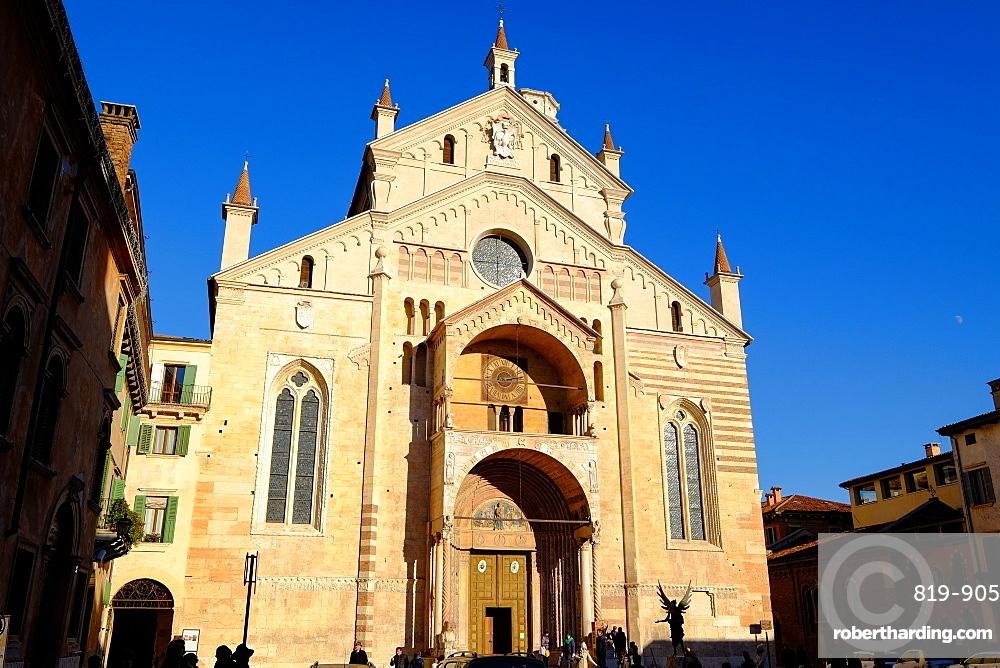 Verona Cathedral, Verona, Veneto, Italy, Europe