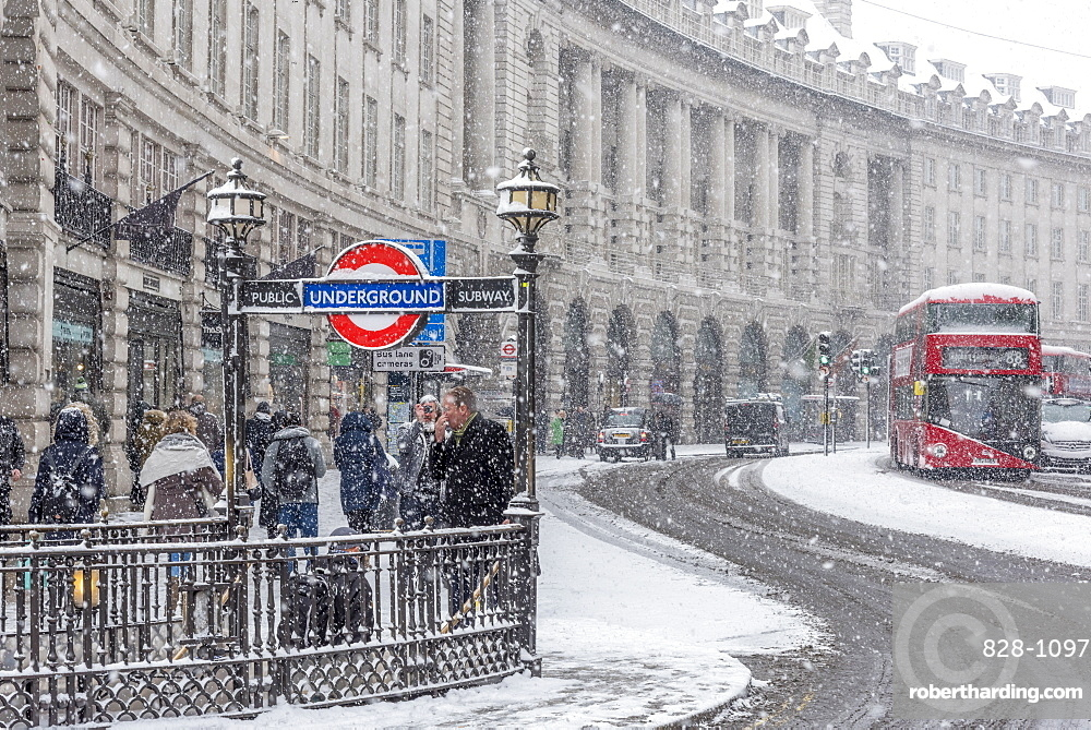 Regent Street, West End, London, England, United Kingdom, Europe