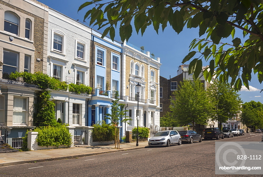 St. Lawrence Terrace, Ladbroke Grove, Kensington and Chelsea, London, England, United Kingdom, Europe