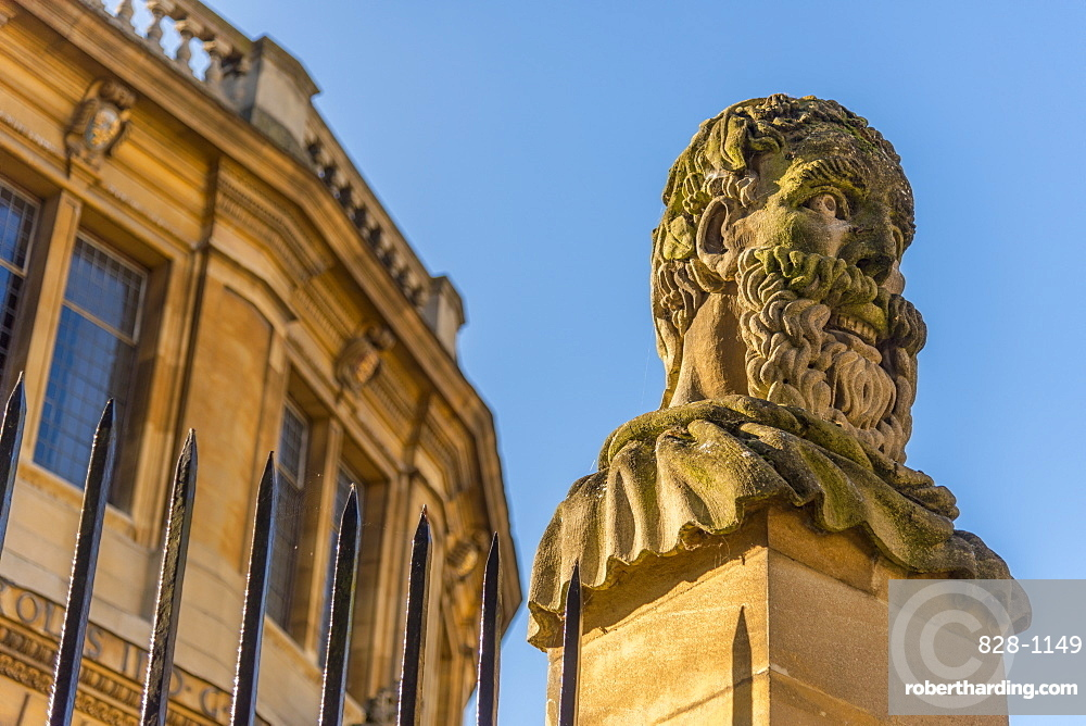 Sheldonian Theatre, University of Oxford, Oxford, Oxfordshire, England, United Kingdom, Europe