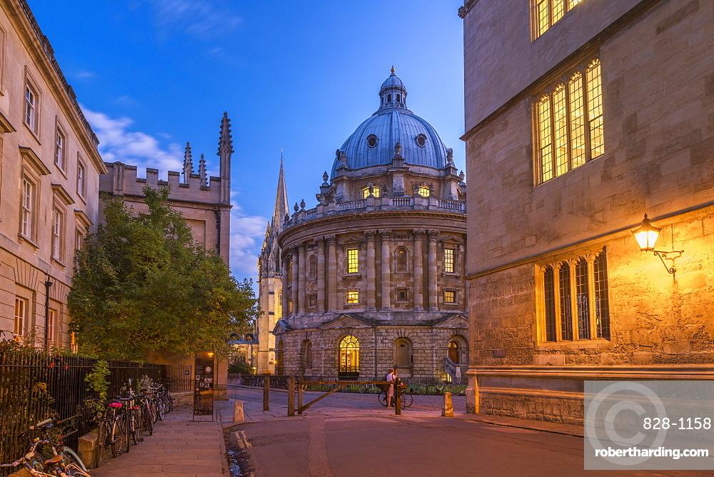 Radcliffe Camera, University of Oxford, Oxford, Oxfordshire, England, United Kingdom, Europe