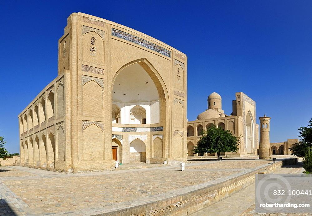 Historic Chor Bakr memorial complex, Sumitan near Bukhara, Buchara, Silk Road, Uzbekistan, Central Asia