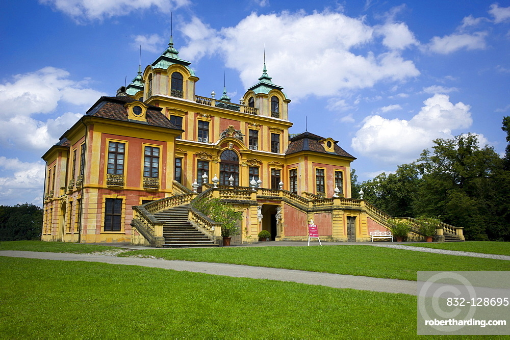 Schloss Favorite, Baroque pleasure palace and hunting lodge, Favorite Park,  Ludwigsburg, Baden