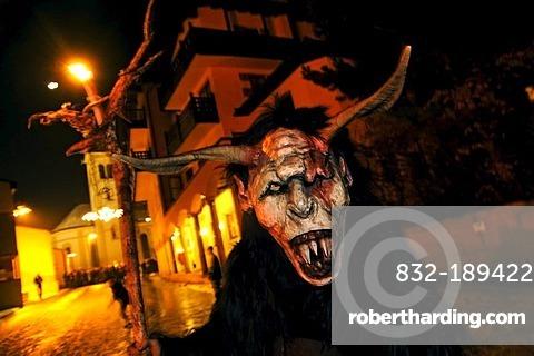 Tuifllauf, Devil's Procession, Fulpmes, Stubai Valley, Austria, Europe