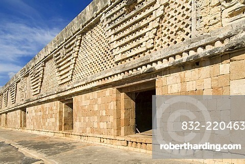 Uxmal, UNESCO World Heritage Site, Cuadrangulo de las Monjas, The Nunnery Quadrangle, Yucatan, Mexico