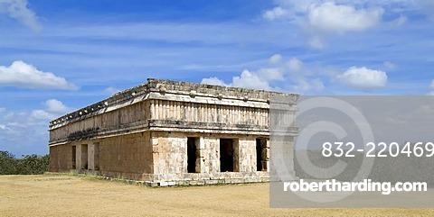 Uxmal, UNESCO World Heritage Site, Casa de las Tortugas, House of the Turtles, Yucatan, Mexico