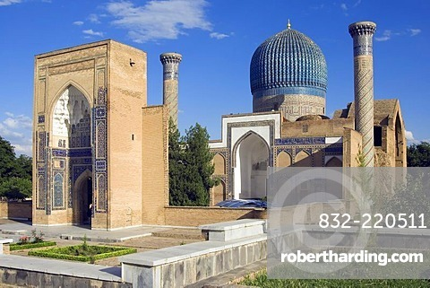 Guri Amir Mausoleum, Samarkand, UNESCO World Heritage Site, Uzbekistan
