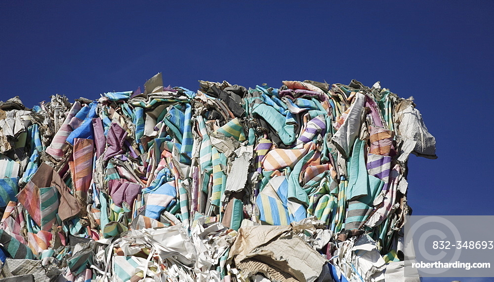 Waste paper to be recycled