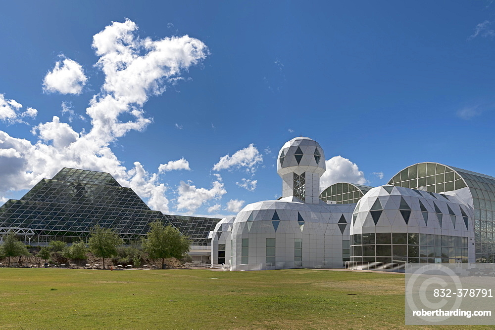 Biosphere 2, self-sustaining ecosystem, Oracle, Arizona, USA, North America