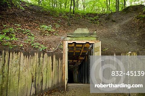 The entrance to Daugbjerg limestone | Stock Photo