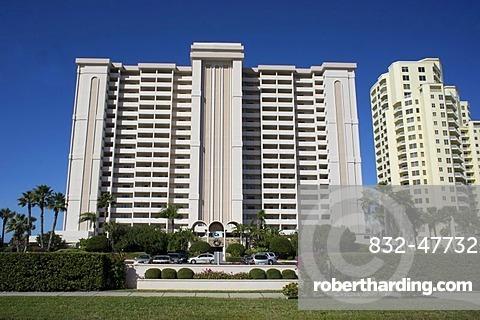 High Rise Apartment Buildings 1230 Gulf Boulevard Sand Key Clearwater Beach