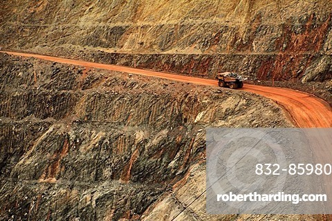 Super Pit gold mine, Kalgoorlie, | Stock Photo