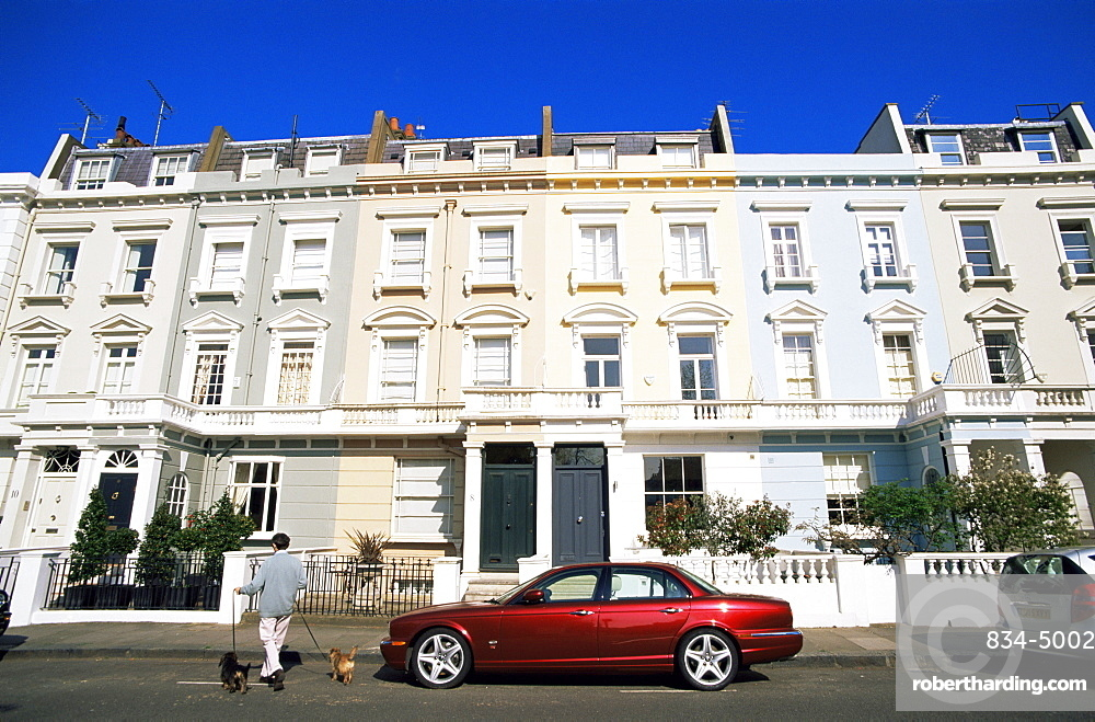 terraced houses england