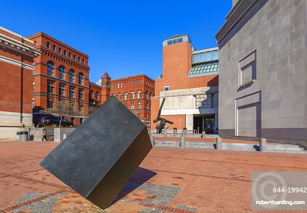 View of United States Holocaust Memorial Museum, Washington D.C., United States of America, North America