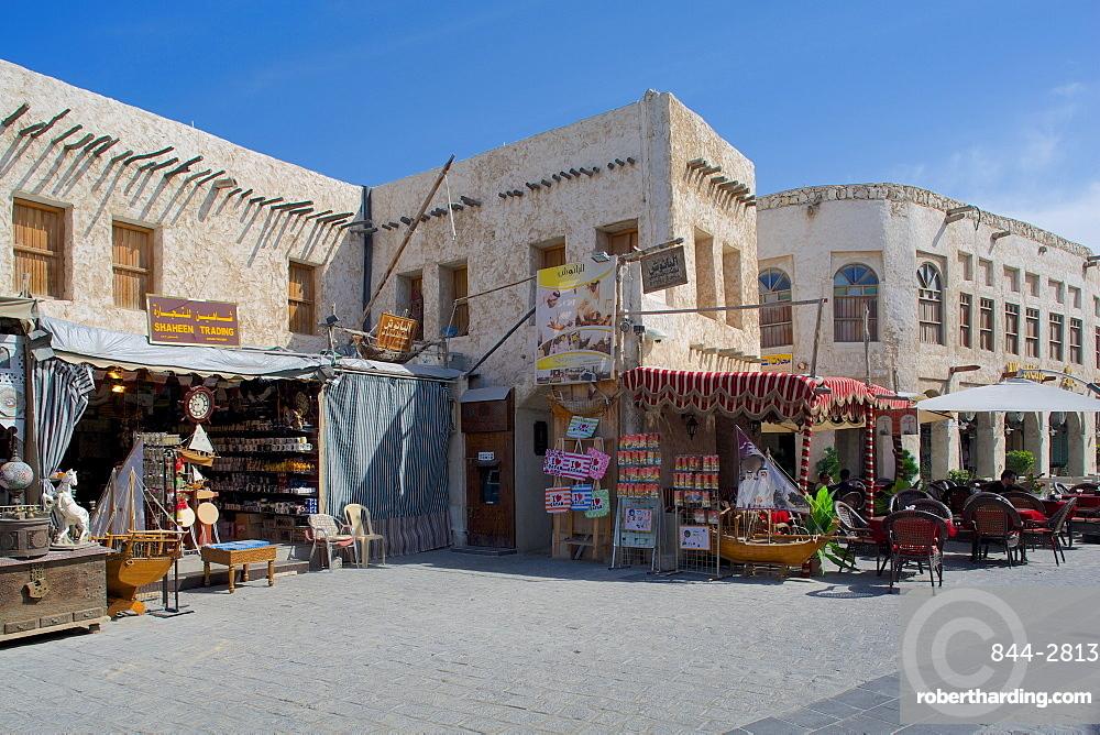 Shops, Waqif Souq, Doha, Qatar, Middle East