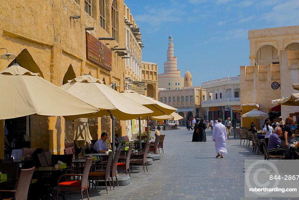 Restaurant and Islamic Culture Centre, Waqif Souq, Doha, Qatar, Middle East