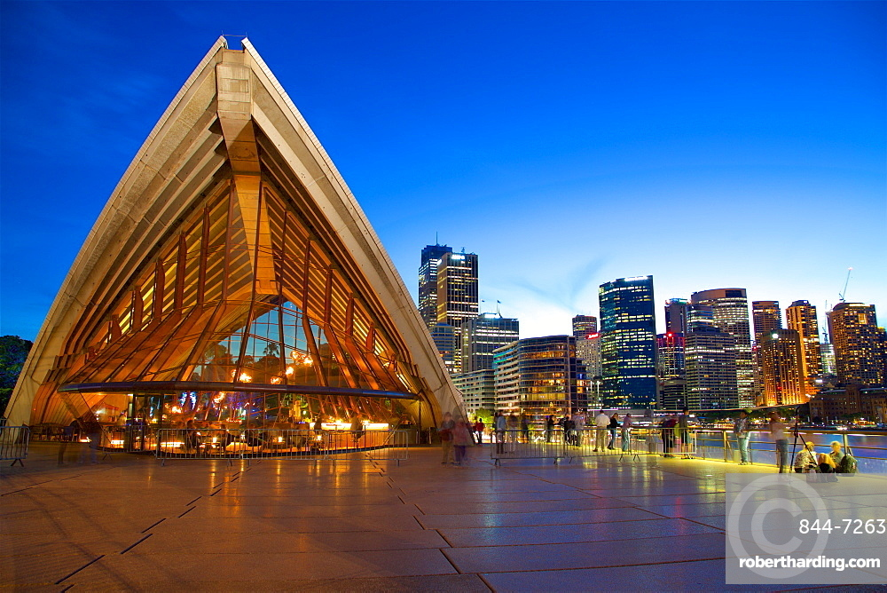 Sydney Opera House at Dusk, Sydney, New South Wales, Australia, Oceania