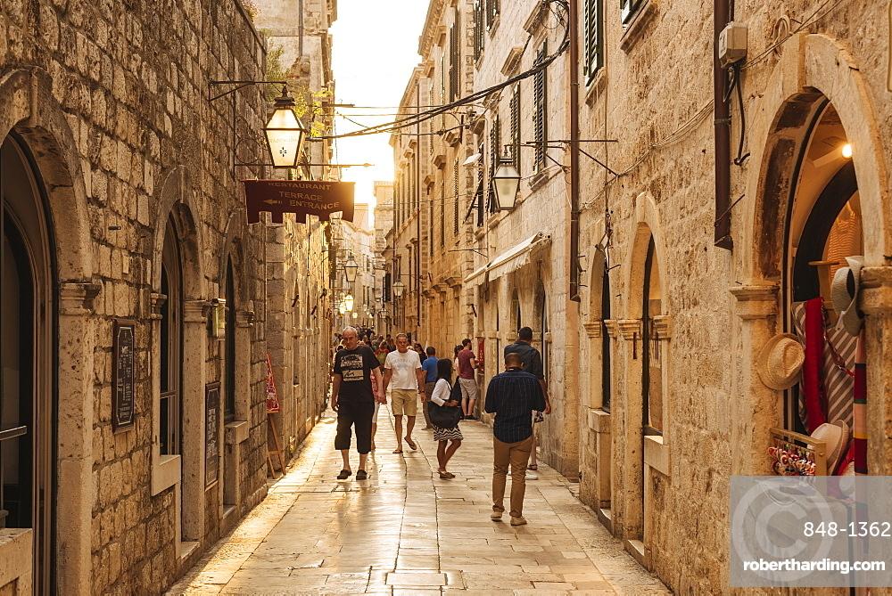 Old Town, UNESCO World Heritage Site, Dubrovnik, Croatia, Europe