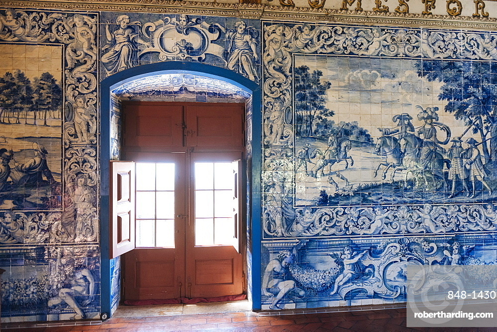 Interior of Palace of Sintra, Sintra, Portugal