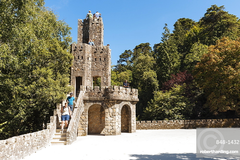 Quinta da Regaleira, UNESCO World Heritage Site, Sintra, Portugal, Europe