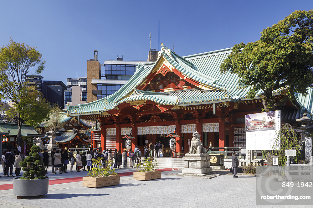 Kanda Myoujin Shrine in Binkyo, Tokyo, Japan, Asia