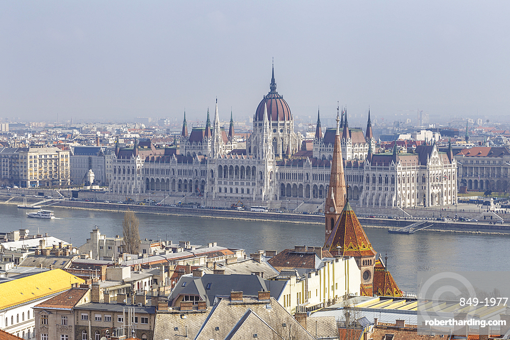 Sitting on the banks of the Danube, the Hungarian Parliament Building in Budapest dates from the late 19th century.