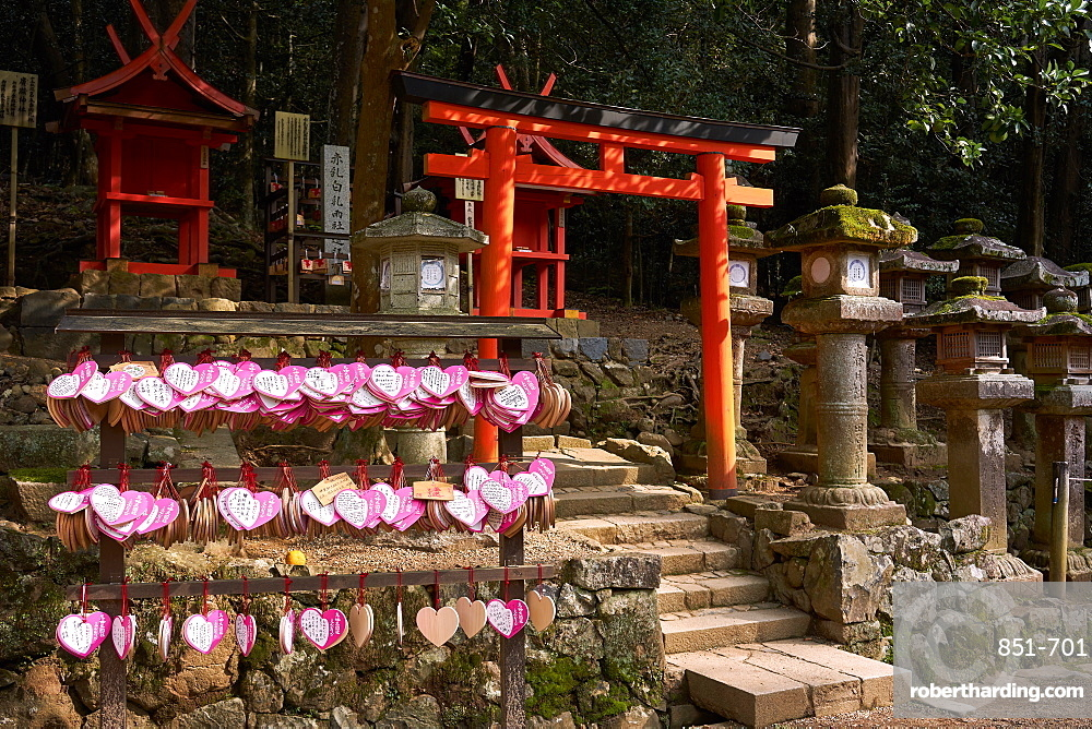 Kasuga Wakamiya Shrine in Nara Park, Nara, Honshu, Japan, Asia