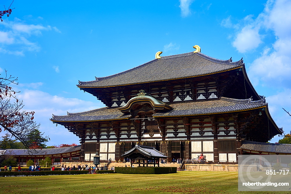 Todaiji Temple is a UNESCO World Heritage Site in Nara.